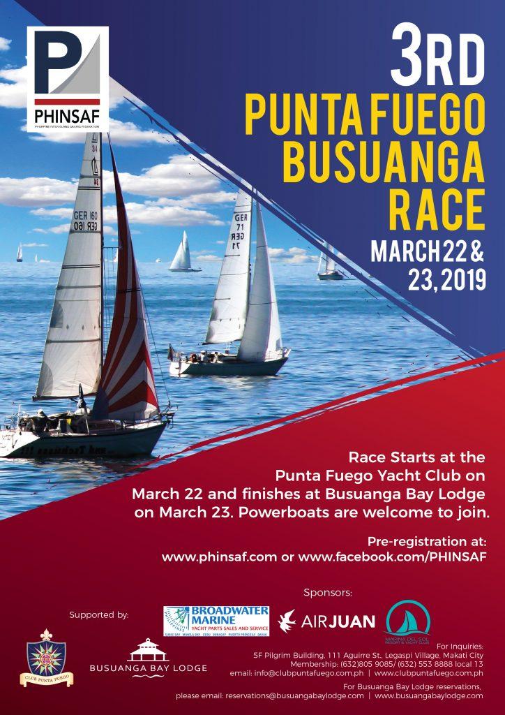 17th Punta Fuego Regatta 2019 – PHINSAF